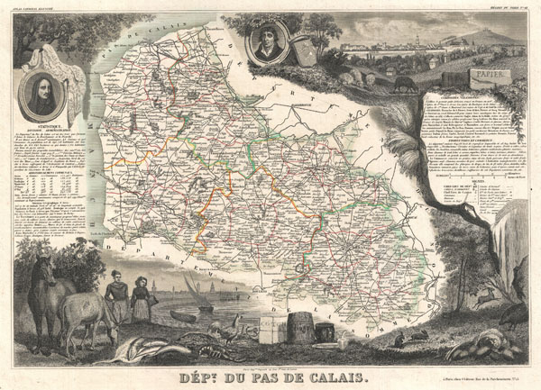 Dept. du pas de Calais. - Main View