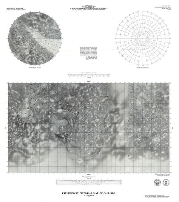 Preliminary Pictorial Map of Callisto.
