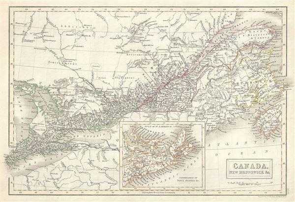 Canada, New Brunswick etc. - Main View