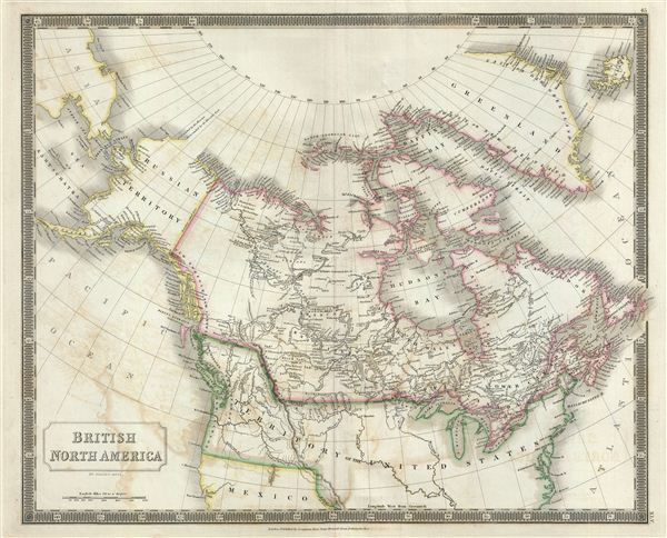 British North America. - Main View