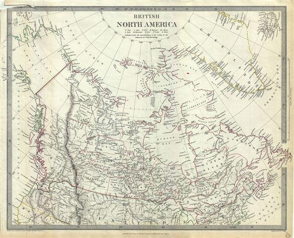 British North America. - Main View
