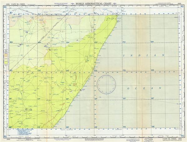 Cape El Cheil British Somaliland-Ethiopia-Italian Somaliland.