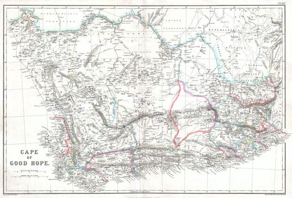 Cape of Good Hope.: Geographicus Rare Antique Maps