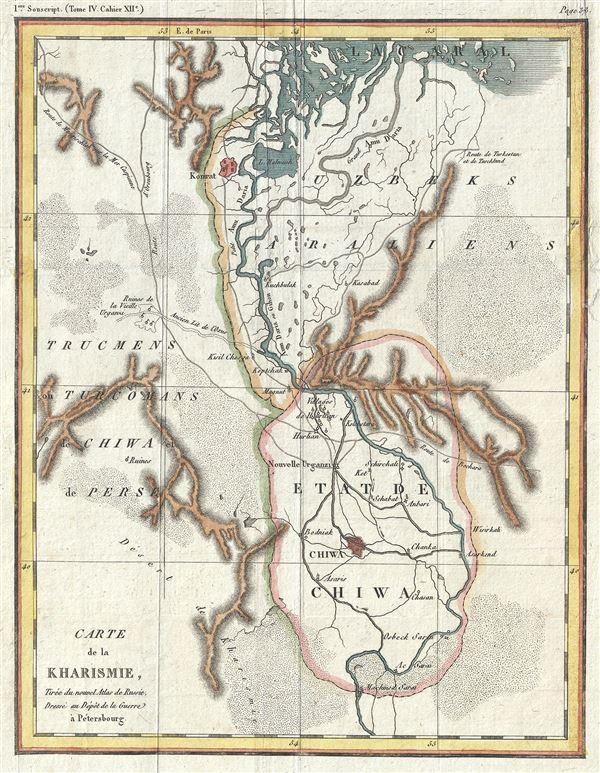Carte de la Kharismie.