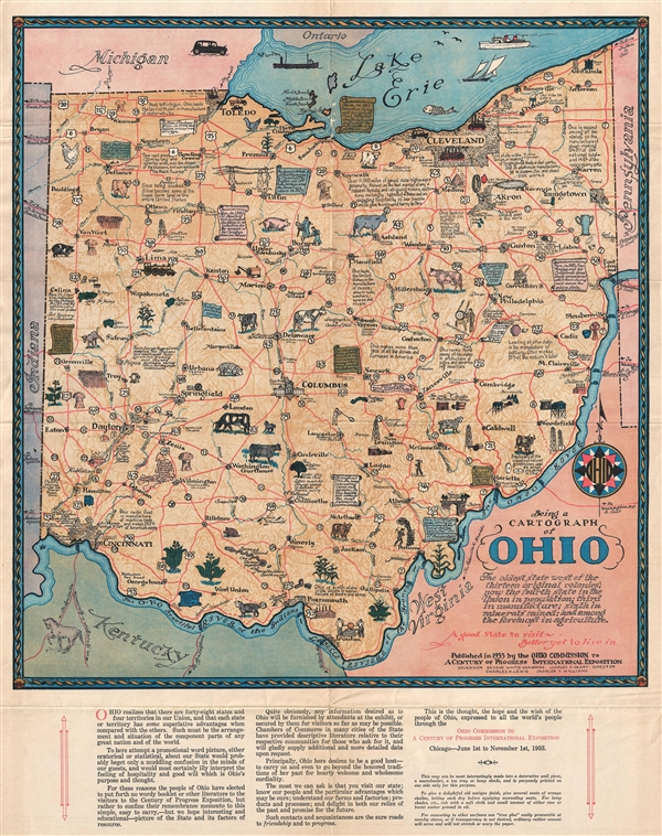 Being a Cartograph of Ohio.