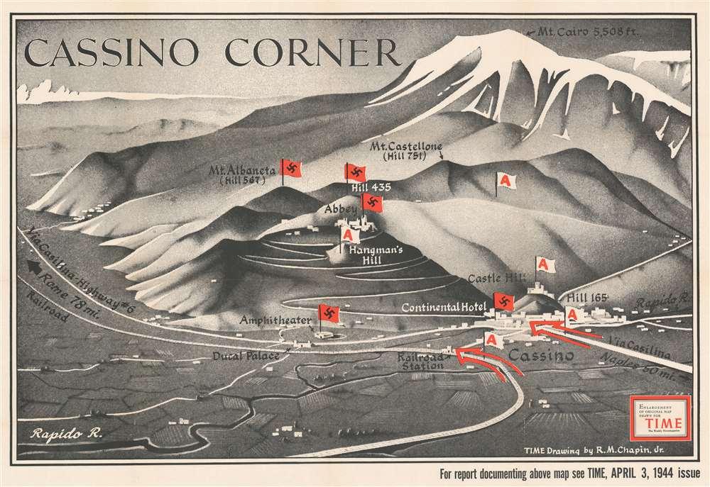 Cassino Corner. - Main View