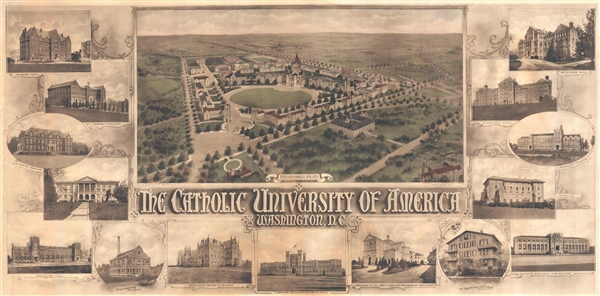 Proposed Plan.  The Catholic University of America Washington D.C.
