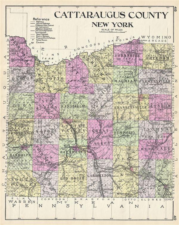 Cattaraugus County New York. - Main View