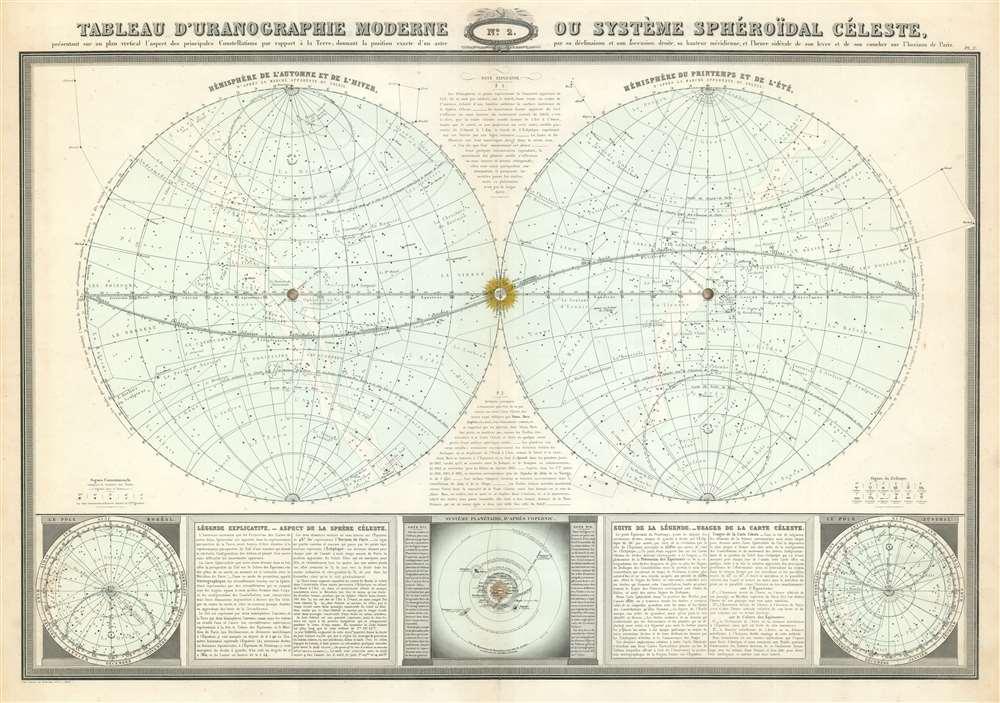 Tableau d'uranographie moderne ou système sphéroïdal céleste. - Main View