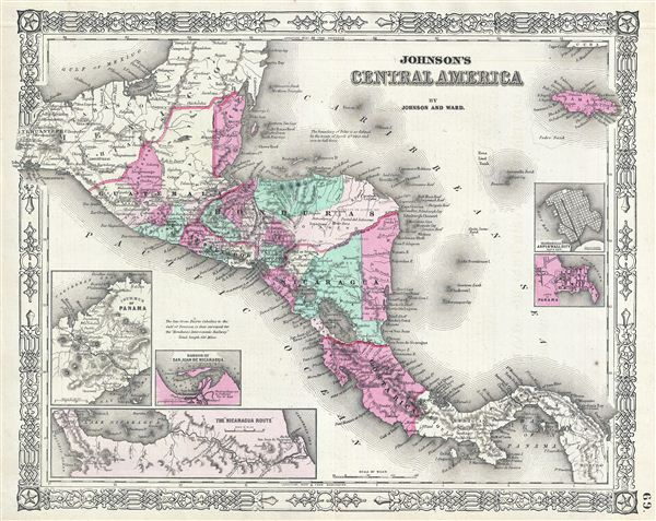 Johnson's Central America. - Main View