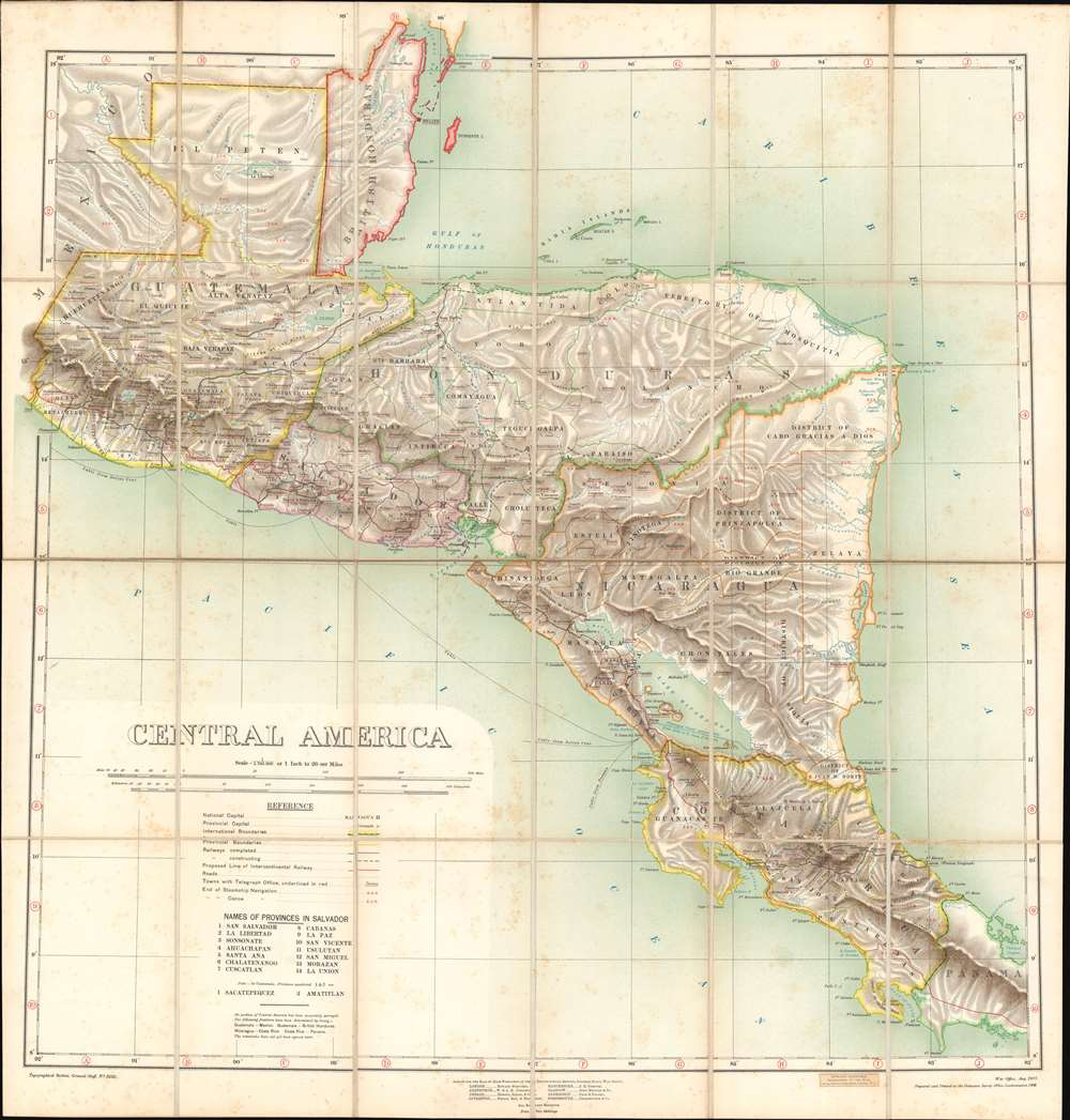 Central America. - Main View