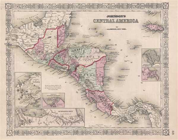Johnson's Central America. - Main View