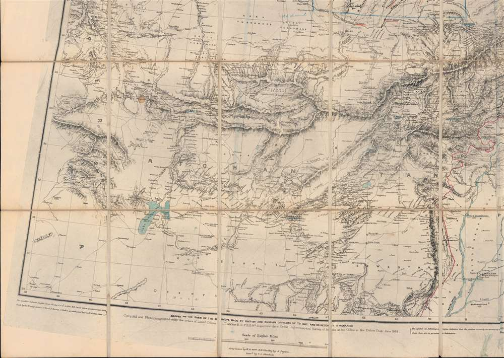 [Turkestan with the adjoining portions of the British and Russian territories.] - Alternate View 5