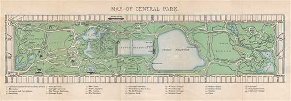 Map of Central Park.