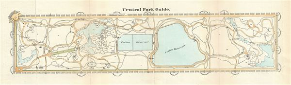 Central Park Guide. - Main View
