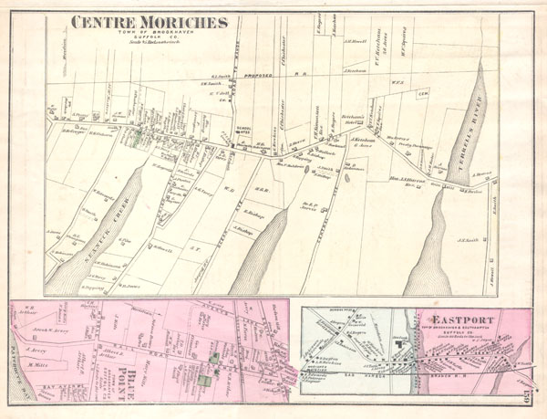 Center Moriches Town of Brookhaven Suffolk Co. - Main View
