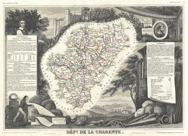 Dept. de la Charente. - Main View