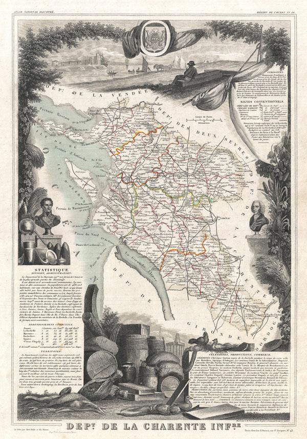 Dept. de la Charente Infre.