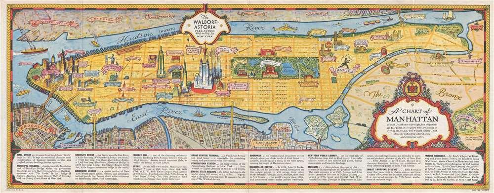 A Chart of Manhattan.