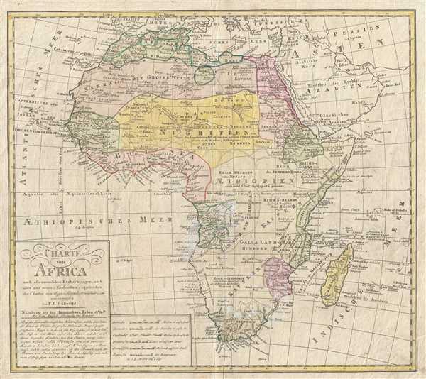 Charte von Africa.