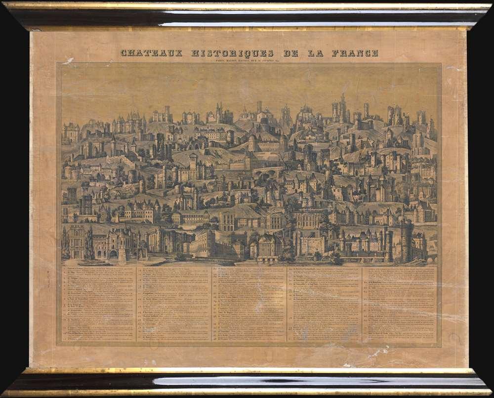 Chateaux Historiques de la France.