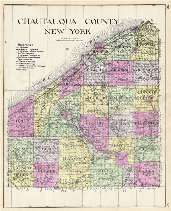 Chautauqua County New York. - Main View