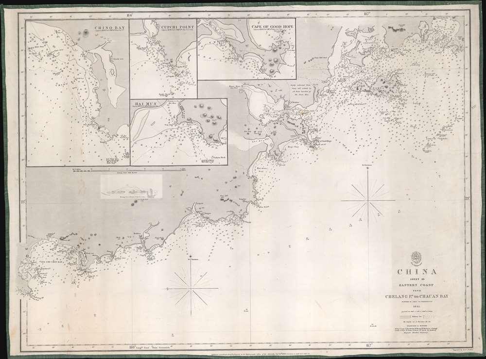 China Sheet III. Eastern Coast from Chelang Pt. to Chauan Bay. - Main View