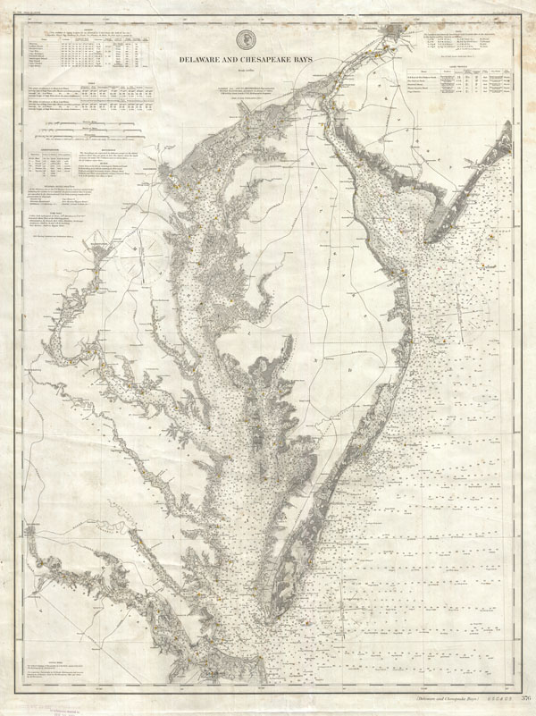 Delaware and Chesapeake Bays.