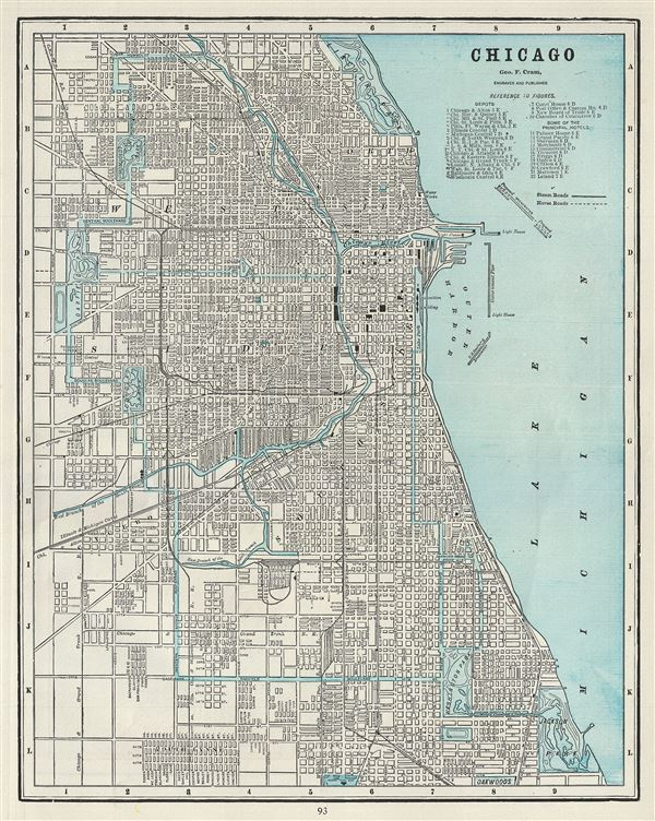 Chicago.: Geographicus Rare Antique Maps