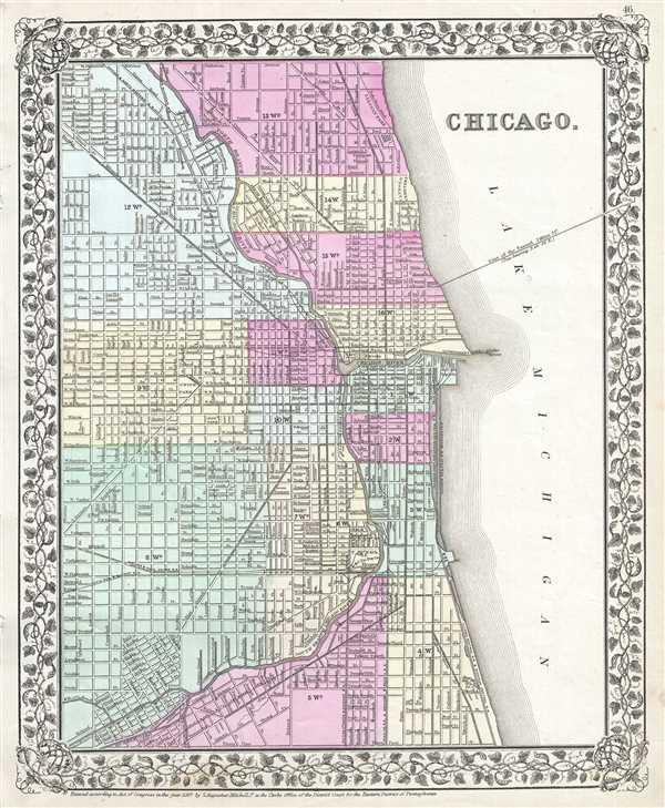 Chicago.: Geographicus Rare Antique Maps