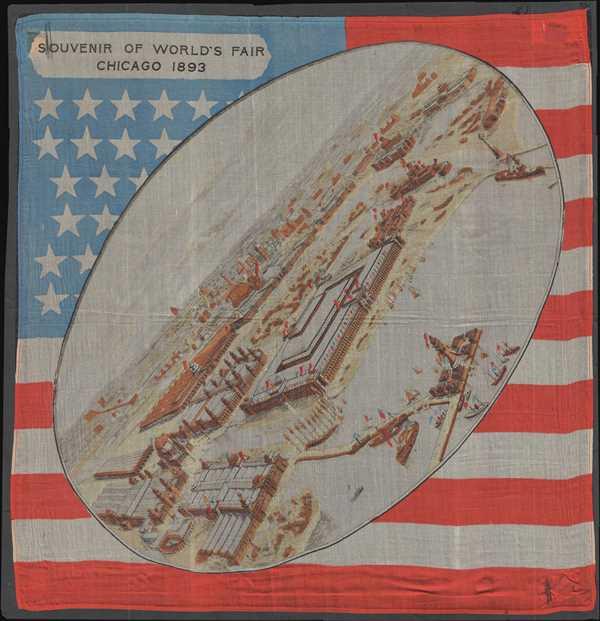 Souvenir of World Fair Chicago 1893.