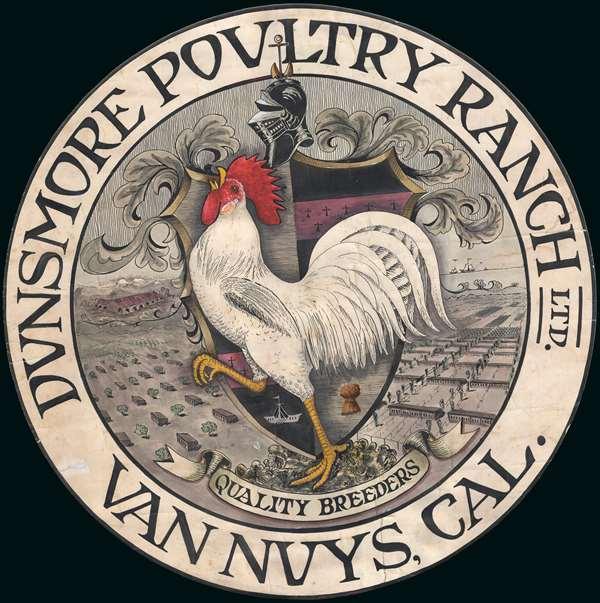 Dunsmore Poultry Ranch Ltd. Van Nuys, Cal.