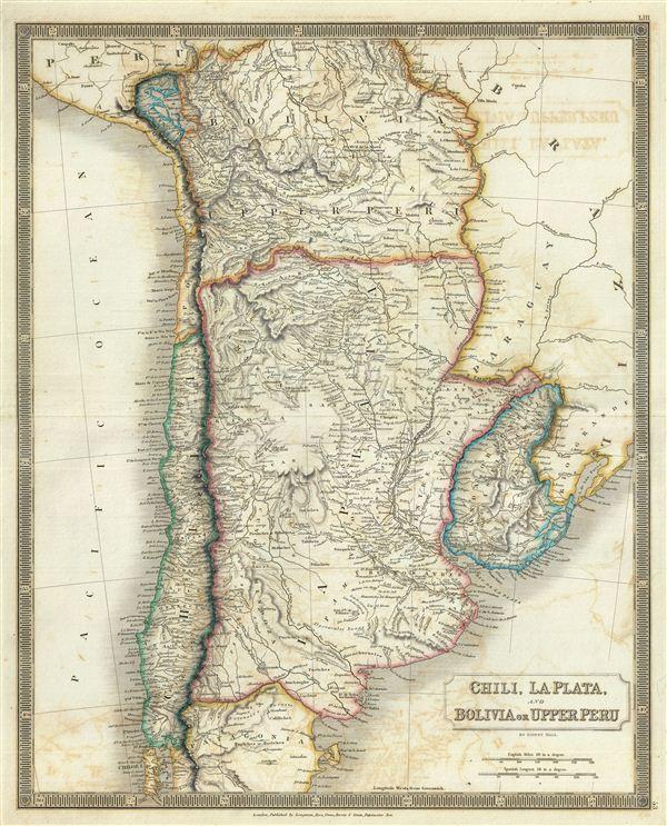 Chili, La Plata, and Bolivia or upper Peru. - Main View