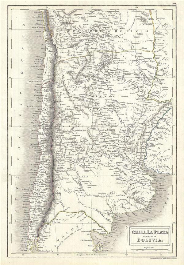 Chili, La Plata and part of Bolivia.