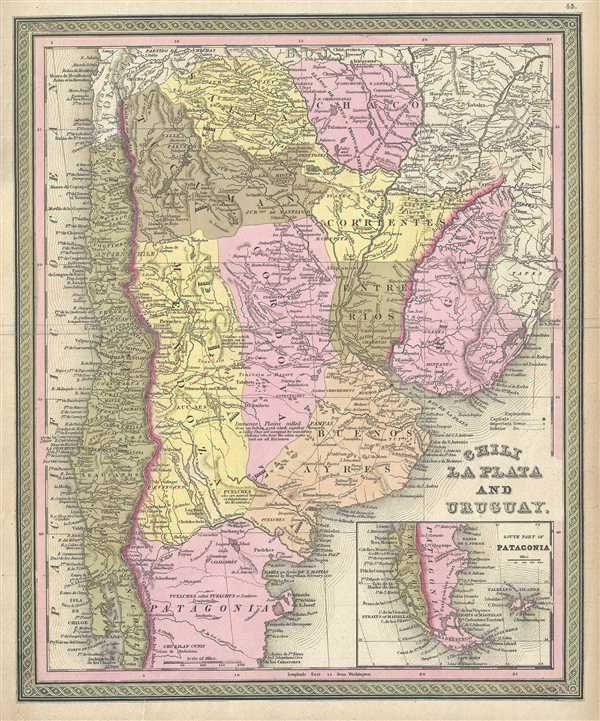 Chili La Plata and Uruguay.