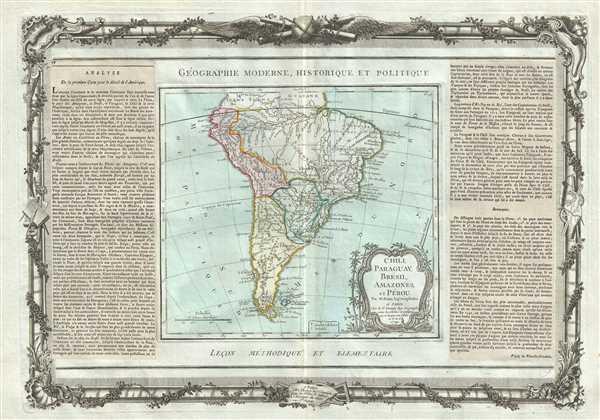 Chili, Paraguay, Breesil, Amazones et Perou.
