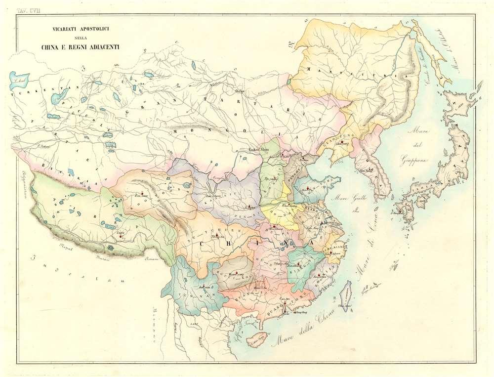 Vicariati Apostolici Nella China e Regni Adiacenti - Main View