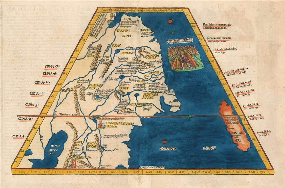 Tabula Superioris Indiae et Tartariae Majoris. - Main View