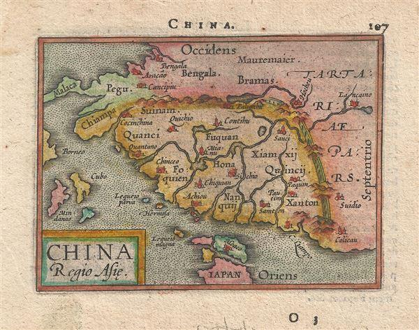 China Regio Asie.