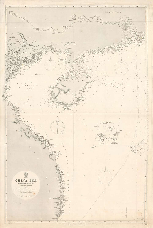 China Sea, Northern Portion, Western Sheet. - Main View