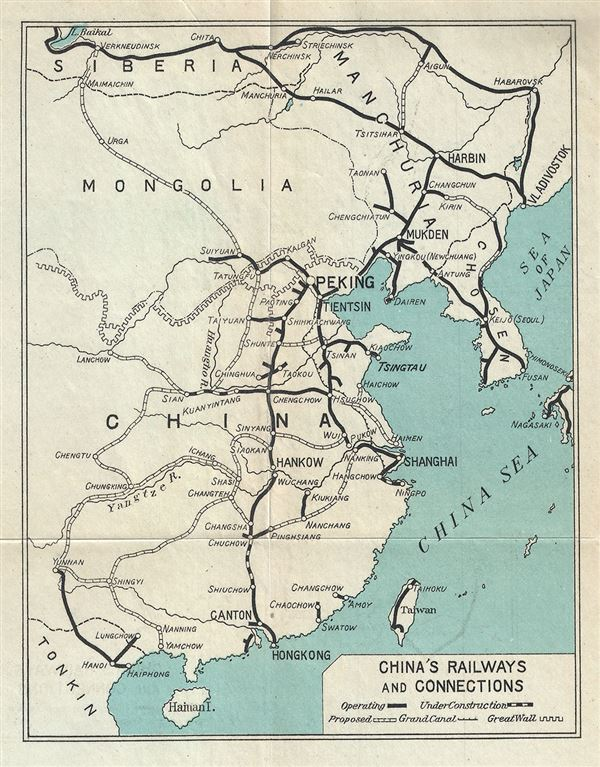 China's Railways and Connections.