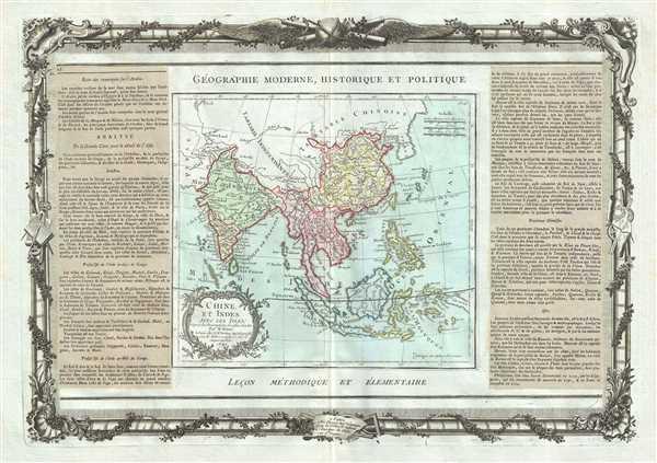 Chine, Et Indes Avec Les Isles. - Main View