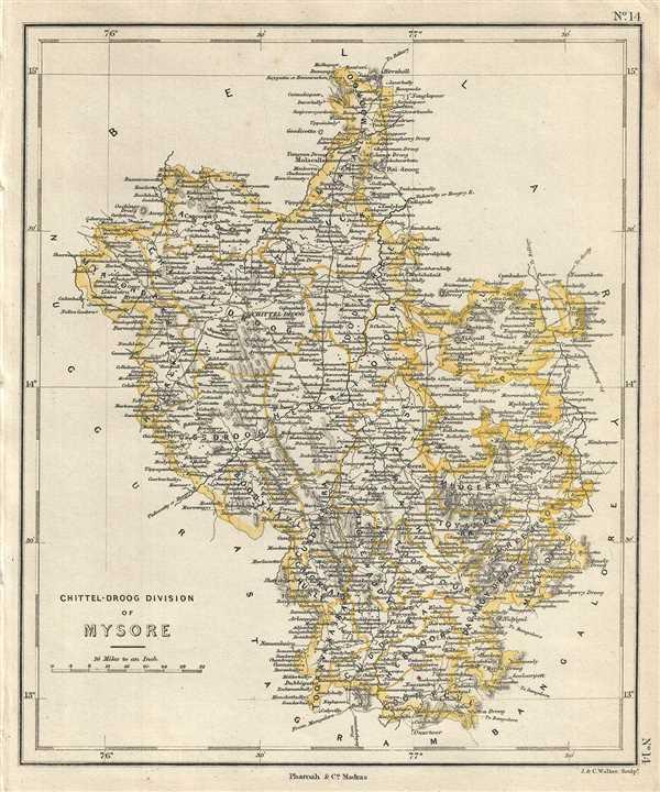 Chittel-Droog Division of Mysore.