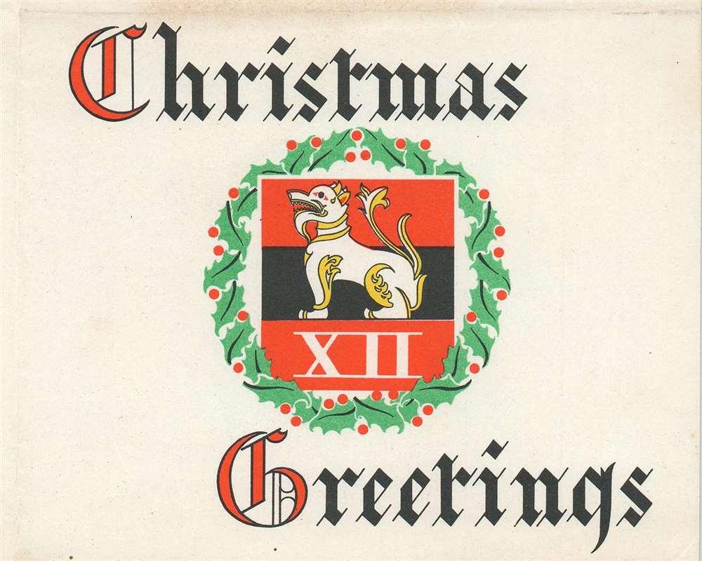 Christmas Greetings. - Alternate View 1