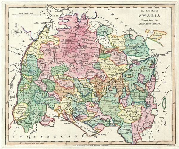 The Circle of Swabia, Drawn from the Best Authorities. - Main View