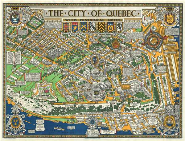 The City of Quebec with Historical Notes.