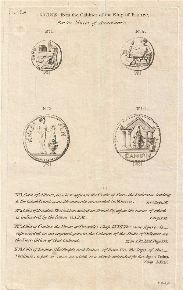 Coins from the Cabinet of the King of France. - Main View