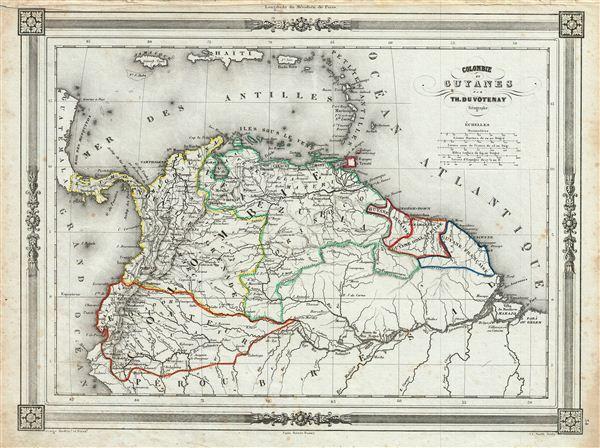 Colombie et Guyanes.