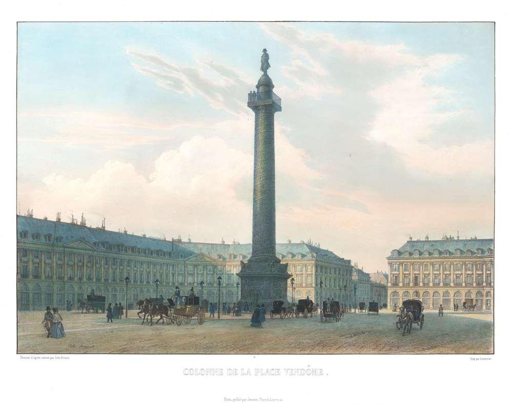 Colonne de la Place Vendôme. - Main View