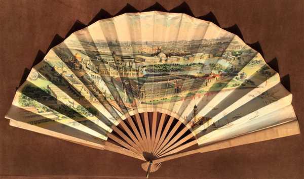 World's Columbian Exposition Fan.